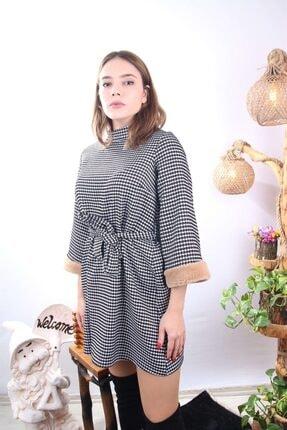 Kazayaklı Kloş Elbise BTK34031