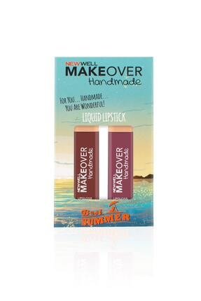 New Well Makeover Handmade 2'li Liquid Lipstick 4 ml 1