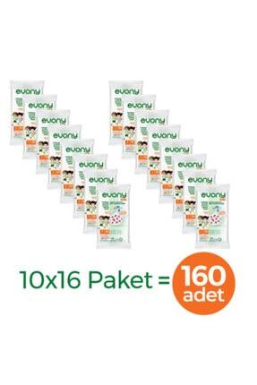 Evony Elastik Kulaklı Çocuk Kids Maske 160 Adet 2