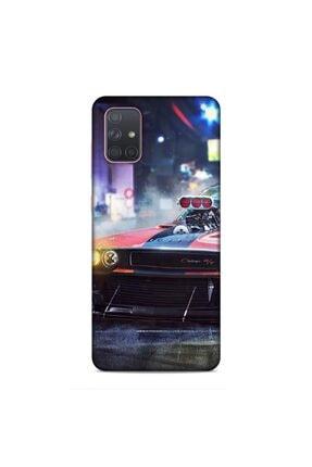 Pickcase Samsung Galaxy A71 Kılıf Desenli Arka Kapak N/t 0