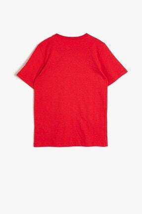 Koton Erkek Çocuk Kırmızı T-Shirt 0YKB16262OK 2