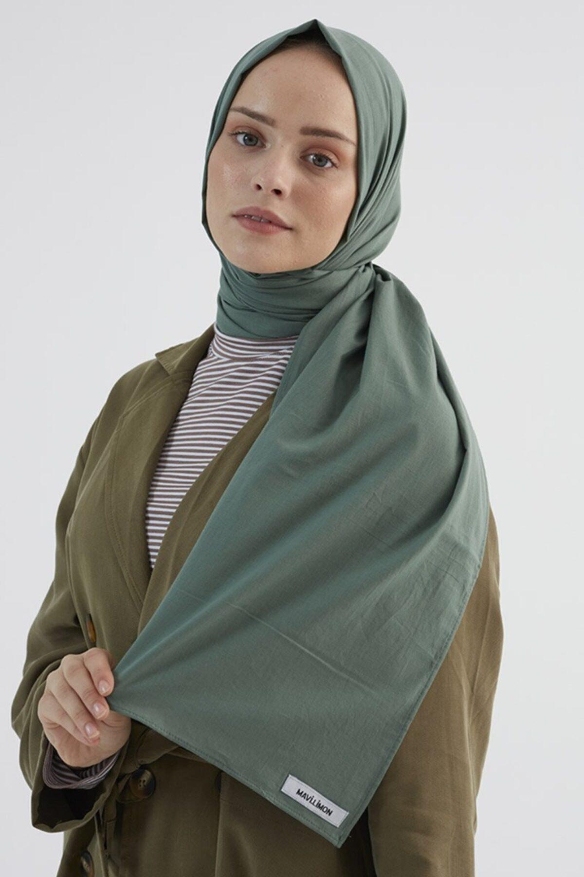 Kadın Pamuk Vual Çağla Yeşili