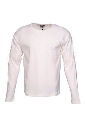 HUMMEL Erkek Beyaz Uzun Kollu Tişört 1