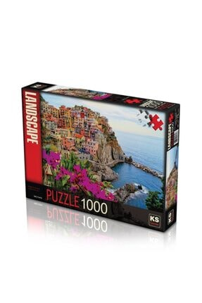 Ks Games 11309 Puzzle 1000/vıllage Of Manarola Puzzle 1000 Parça 0