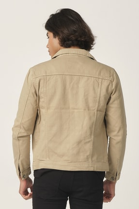 Five Pocket Erkek Krem Renk Ceket 3