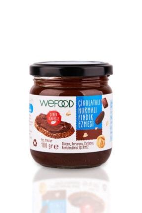 Wefood Çikolatalı Hurmalı Fındık Ezmesi 180 Gr 0