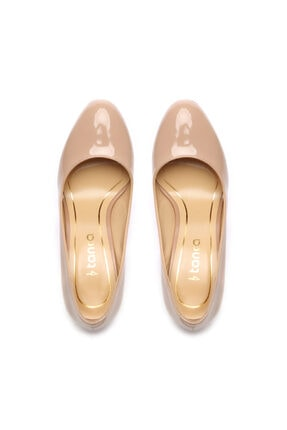 Kemal Tanca Kadın Bej Topuklu Ayakkabı 22 926 2