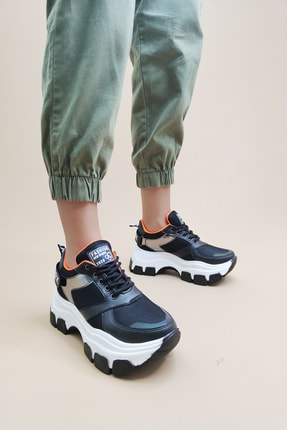 Ayax Kadın Siyah Sneaker 2