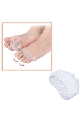 Modatools Buffer Ayak Parmak Koruyucu Silikon Bunyon Topuklu Ayakkabı Vurma Önleyici Çift Ped 2