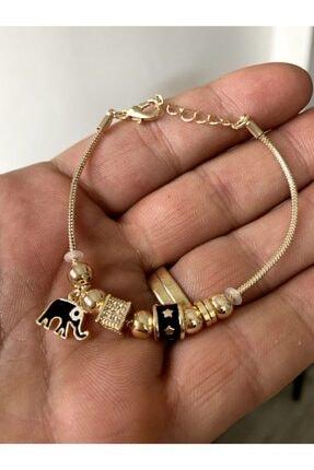 jackferrero Altın Kaplama Kadın Bileklik 0