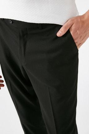 Koton Erkek Siyah Desenli Jeans 1KAM49540KW 4