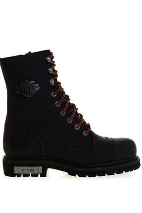 Harley Davidson Siyah Kadın Bot & Bootie 504850854 0