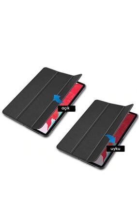 MOBAX Apple Ipad Air 2 Kılıf Pu Deri Smart Case A1566 A1567 Kırmızı 1