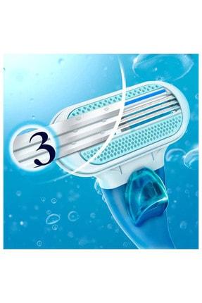 Gillette Venüs Smooth Kadın Tıraş Makinesi + 3 Yedek Tıraş Bıçağı 3