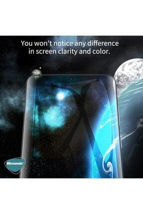 Microsonic Samsung Galaxy S20 Plus Tam Kaplayan Temperli Cam Ekran Koruyucu Siyah 3