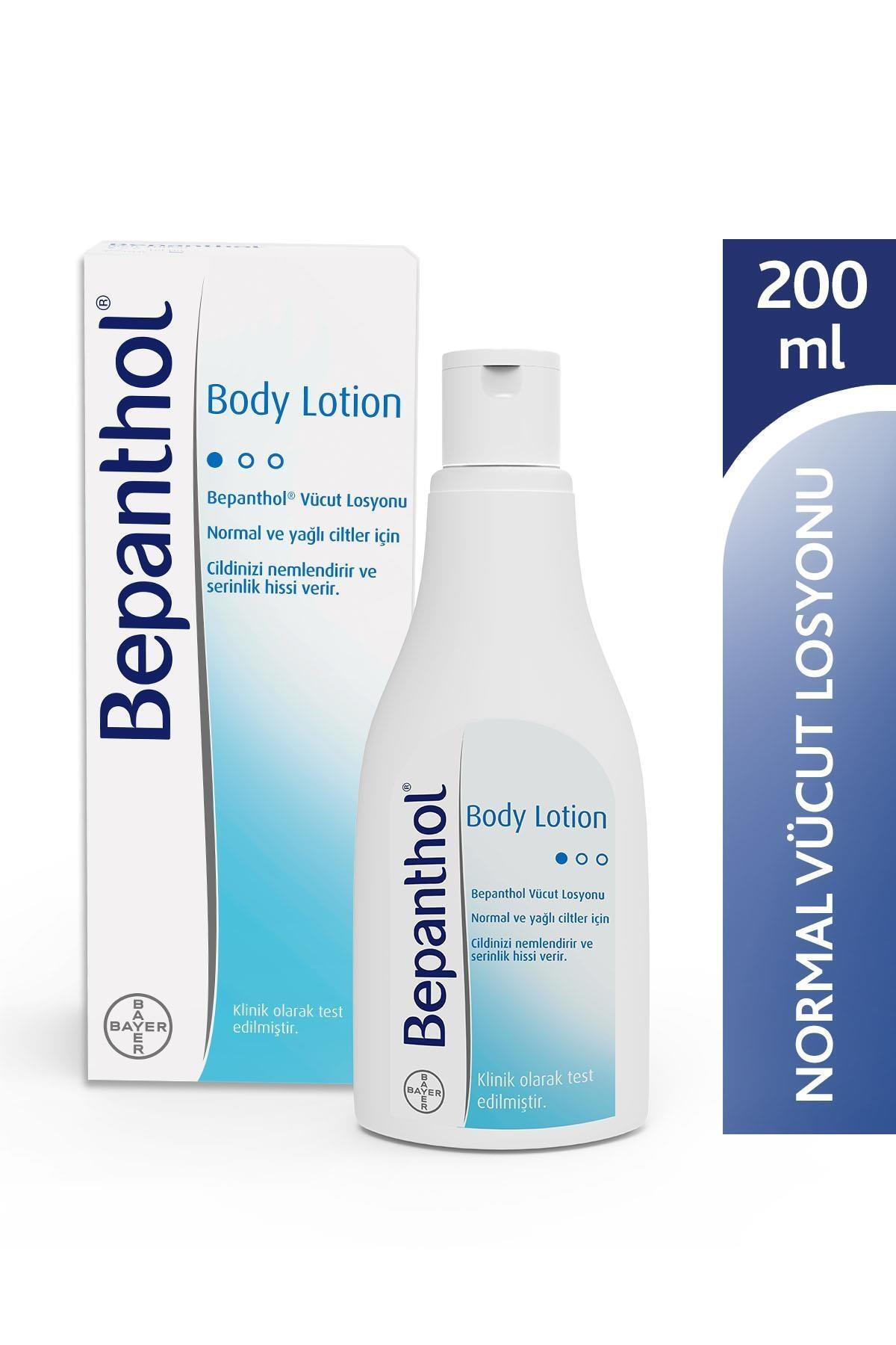 Bepanthol Normal-yağlı Ciltler Için Nemlendirici Vücut Losyonu 200 ml 8699546485208 0