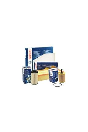 Bosch Citroen C3 1.4 Hdı 3'lü Filtre Bakım Seti 2002-2009 0