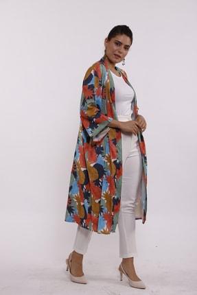 Moylin 2809 Desenli Kimono 3