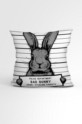 Ejoya Tavşanlı Özel Tasarımlı Modern Dekoratif Yastık Kırlent Kılıfı 88429 43x43cm 0
