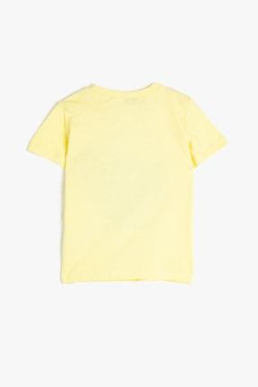Koton Sarı Erkek Bebek T-Shirt 1