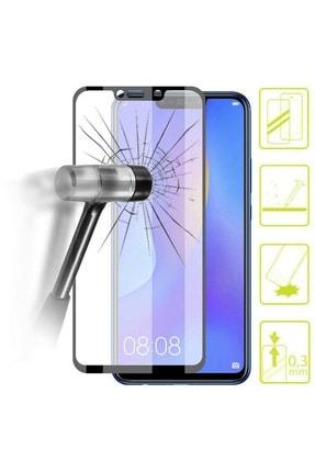 Telefon Aksesuarları Mate 20 Lite Tam Kaplayan 5d 6d 9d Kırılmaz Koruyucu Cam ( Siyah ) 3
