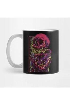 TatFast Trippy Dead Skull Design Kupa 0