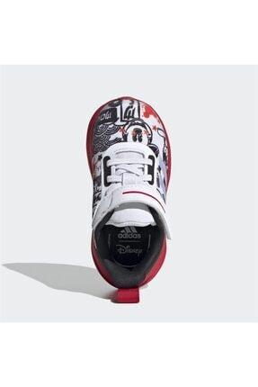 adidas Erkek Bebek Pembe Beyaz Fortarun Mickey Ac  Spor Ayakkabısı 2