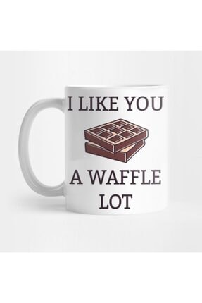 TatFast I Like You A Waffle Lot Kupa 0