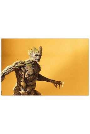 Cakatablo Ahşap Tablo Avengers Infinity War Groot -35-50 Cm 0