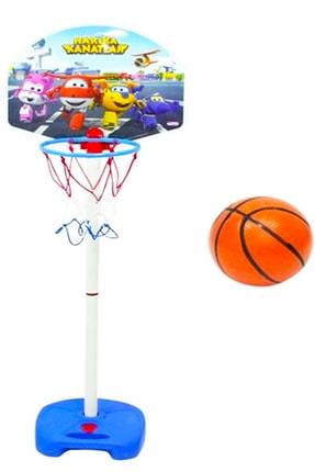 DEDE Harika Kanatlar Ayaklı Ayarlanabilir Büyük Boy Basket Potası 03541 0
