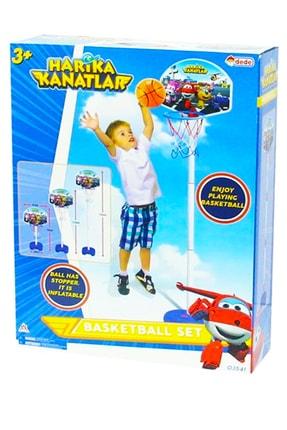 DEDE Harika Kanatlar Ayaklı Ayarlanabilir Büyük Boy Basket Potası 03541 2