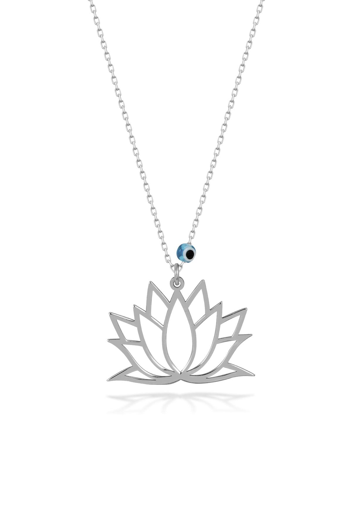 Orjinal Lotus Çiçeği Kolye