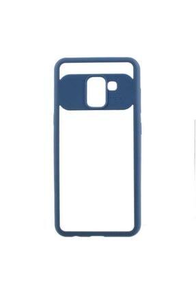 Zore Galaxy A8 Plus 2018 Kılıf Buttom Kapak 0