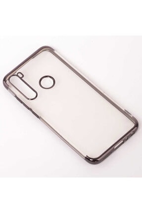 Dijimedia Xiaomi Redmi Note 8 Kılıf Dört Köşeli Lazer Silikon 4
