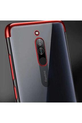 Zore Xiaomi Redmi 8 Kılıf Dört Köşeli Lazer Silikon 2