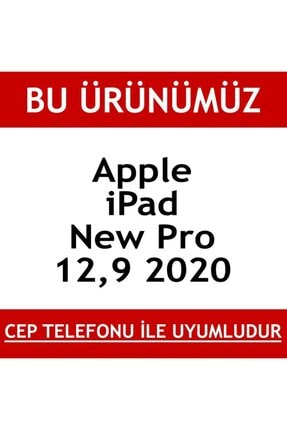 BCA Apple Ipad Pro 12.9 Tablet Hayalet 3d Komple Ekran Koruyucu 1