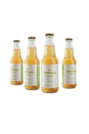 Kombuçça Yeşil Çay 4'lü Paket (ücretsiz Kargo) Kombucha - Kombuça - Probiyotik Kombu Çayı 0