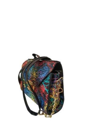 Kadın Desenli Çanta ÇK1012