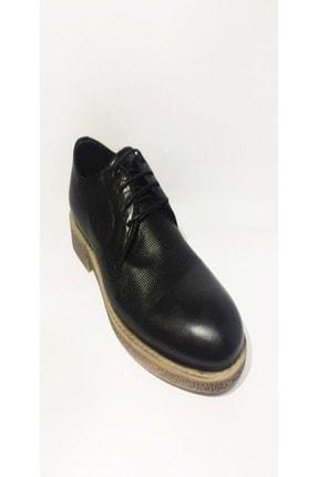 LUCIANO BELLINI Erkek Siyah Bambi Klasik Ayakkabısı 108501 0
