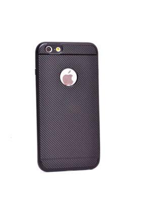 Zore Apple Iphone 6 Kılıf Ince Karbon Mono Silikon Kapak - 2