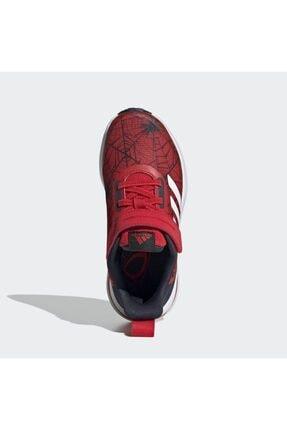 adidas Çocuk Unisex Kırmızı Koşu Ayakkabısı 4