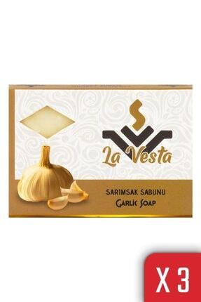 NO NAME La Vesta Sarımsaklı Sabun 100 Gr 3 Adet 0