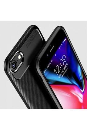 Kilifplus Apple Iphone 8 Kılıf Carbon Serisi Parmak Izi Bırakmayan Silikon - Lacivert 3