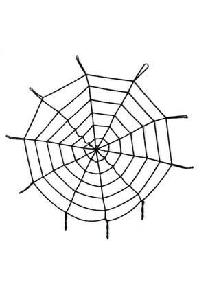 Samur Halloween Cadılar Bayramı Örümcek Ağ Dekor Siyah 2.50 Metre 0