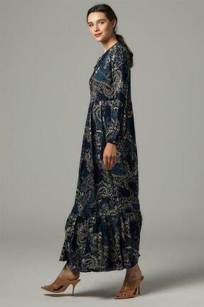 Nassah Elbise-lacivert Us-0s5055-17 2