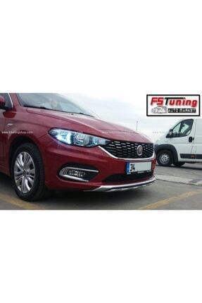 OEM Fiat Egea Difüzör Seti Ön Ve Arka Takım Çift Çıkış Gri 2