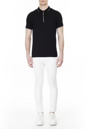 Armani Exchange Erkek Slim Fit Polo T Shirt Polo 8nzf71 Zjh2z 1200 4