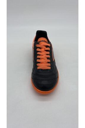 Lotto Erkek Sıyah Turuncu Futsal Spor Ayakkabı R5553 1
