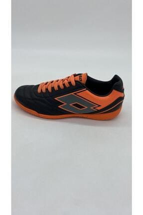 Lotto Erkek Sıyah Turuncu Futsal Spor Ayakkabı R5553 3