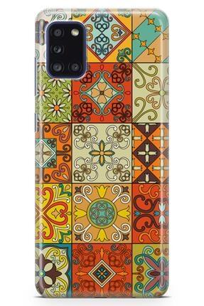 Melefoni Samsung Galaxy A31  Patchwork Serisi Callie Kılıf 1